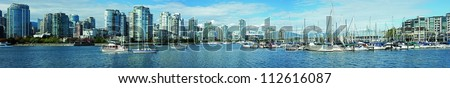 Vancouver and False Creek Panoramic