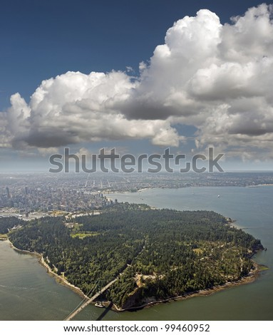 Vancouver and Stanley Park, British Columbia