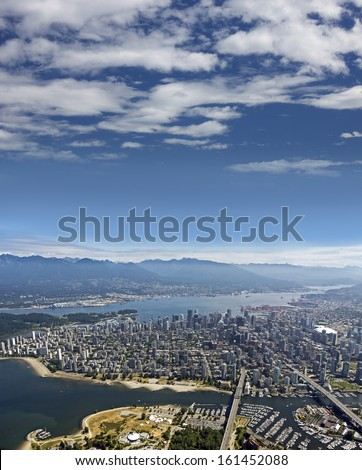 Vancouver BC - Kitsilano, English Bay, Downtown, West End, Burrard Inlet, West Vancouver, North Vancouver and Coast Mountains