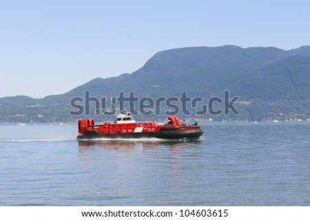 VANCOUVER, BRITISH COLUMBIA - MAY 18: The Canadian government announced it will close the Kitsilano Coast Guard Base the end of this year. The announcement was made on May 18, 2012 in Vancouver, British Columbia.