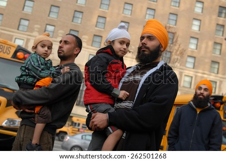 VANCOUVER, CANADA - MARCH 25, 2012: Canada\'s Sikhs rally in solidarity with Bhai Balwant Singh Rajoana in Vancouver, Canada, March 25, 2012.