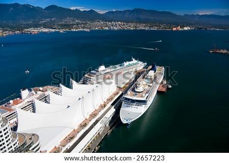 Vancouver Harbour, British Columbia, Canada.