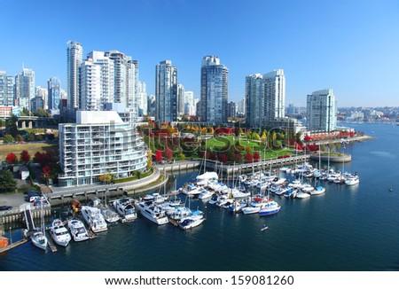 Vancouver in British Columbia, Canada Stock foto ©