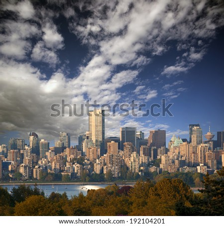 Vancouver Panoramic (July 2014), British Columbia, Canada
