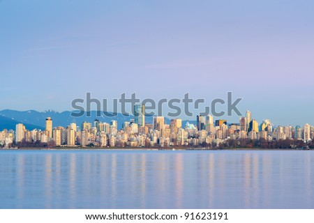 Vancouver Skyline - Vancouver, Canada