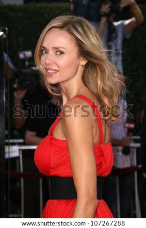 Vanessa Angel  at the Los Angeles Premiere of 'Tropic Thunder'. Mann's Village Theater, Westwood, CA. 08-11-08