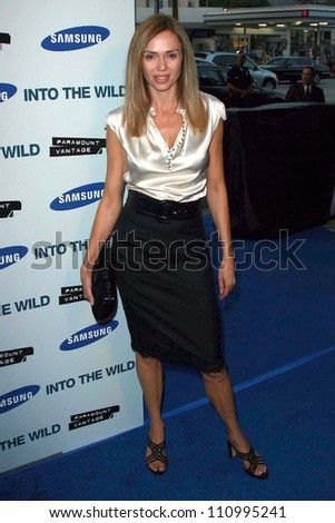 "Vanessa Angel at the premiere of ""Into the Wild"". Directors Guild Of America, Los Angeles, CA. 09-18-07"