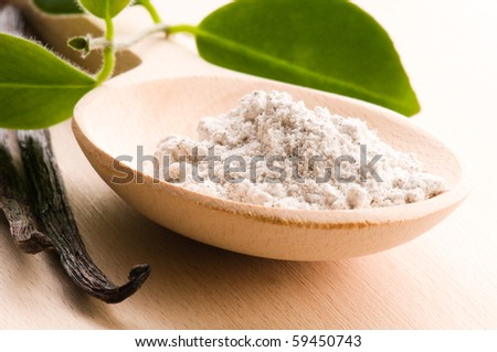 vanilla beans with aromatic sugar