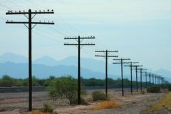 Vanishing Point Telephone Poles