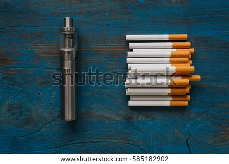 vape and cigarettes