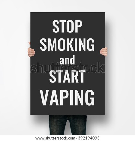 Vaping poster concept #392194093