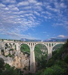 Varda railway bridge