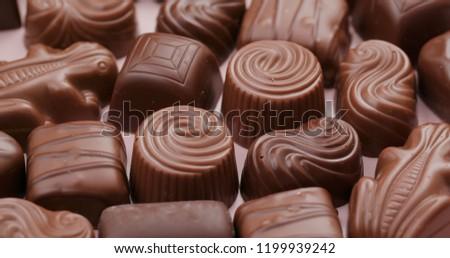 Variety chocolate truffle