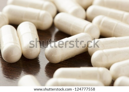 Variety of Drugs, Pills, Supplements, and Medication on a background