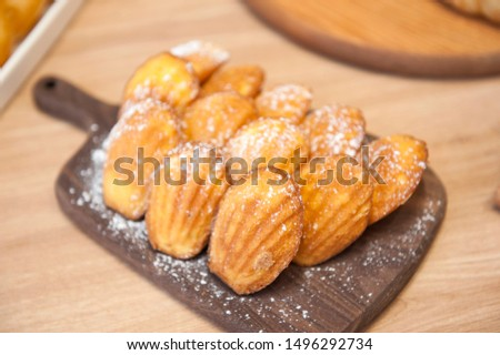 Variety of nutritious and delicious Western style pastries