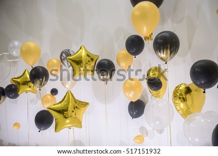 Variety shape Balloon decoration for party