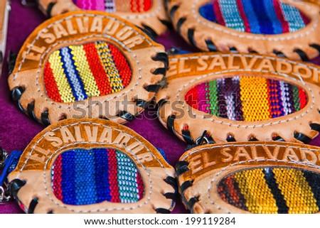 Variety souvenir purses,vintage style, Suchitoto, El Salvador, Central America.