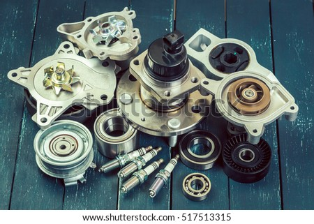 Various car parts #517513315