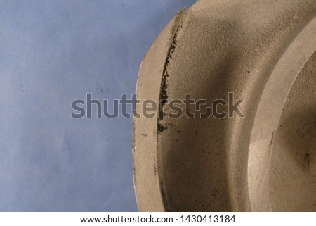 """Various casting defects in a ~13"""" diameter ASTM A990 Grade CN3MCu (Modified) cast impeller #1430413184"""