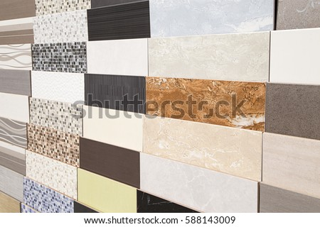 Shutterstock Various ceramic tiles samples