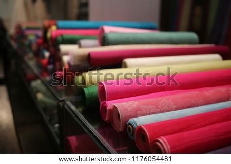 various colors clothes