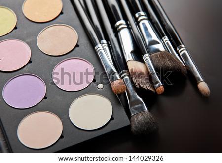 Various cosmetics - stock photo
