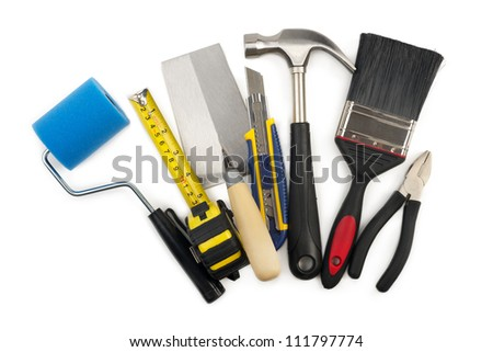 Various home work tools