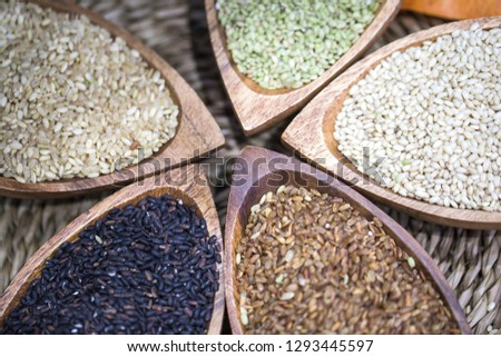 Various miscellaneous grains #1293445597