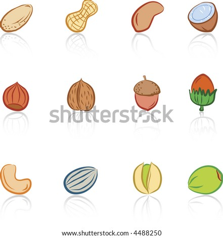 Various Nuts Color 2