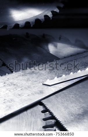 Various saw blades