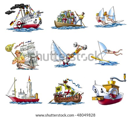 Various ships, boat and more_4