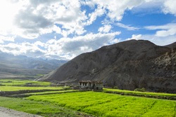 Various views of the Manali Leh Highway