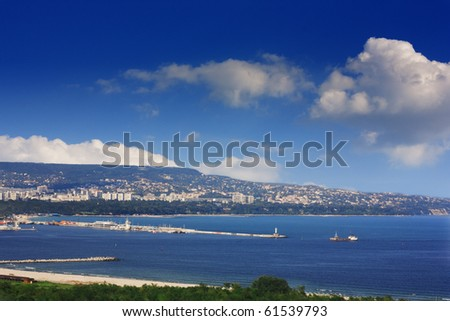 Varna,Bulgaria - view from Asparuhovo