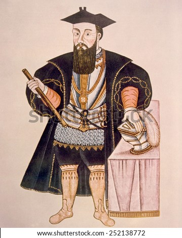 Vasco da Gama (ca. 1469-1524) Foto stock ©