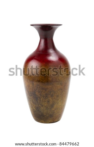 vase, isolated