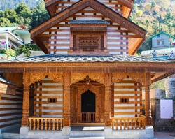 Vashisht Temple on the Outskirts of Manali in Northern India.