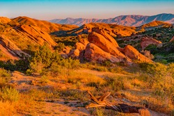 Vasquez Rocks Natural Area Park is a 932-acre park located in the Sierra Pelona Mountains in northern Los Angeles County, California.