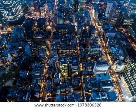 Vast city of the night. #1078306328
