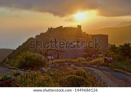 Vatheia Mani Laconia Peloponnese Greece