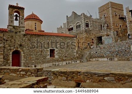 Vathia Mani Laconia Peloponnese Greece
