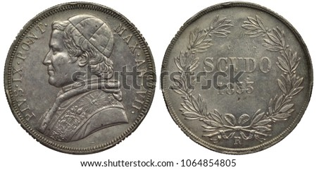 vatican city silver coin 1 one...