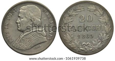 vatican city silver coin 20...