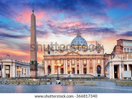 Photo of  Vatican, Rome, St. Peter's Basilica
