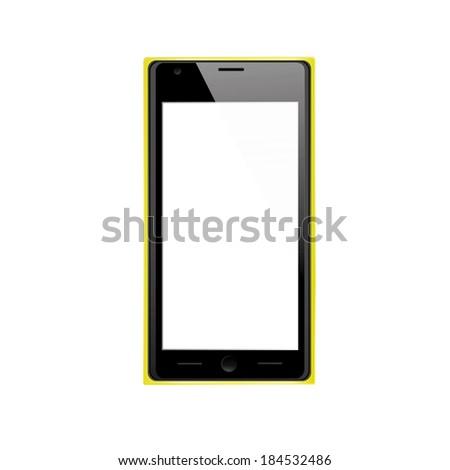 vector black  yellow modern