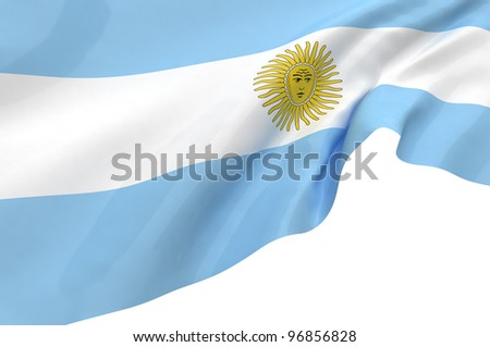 Vector Flags of Argentina