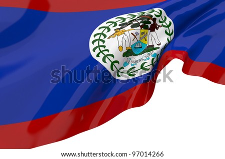 Vector Flags of Belize