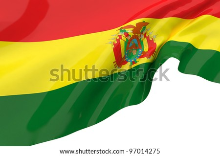 Vector Flags of Bolivia