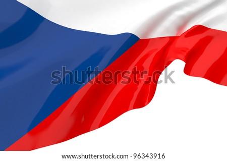 Vector Flags of Czech Republic