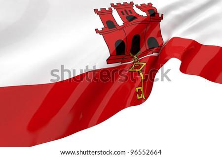 Vector Flags of  Gibraltar