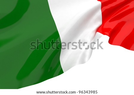 Vector Flags of Italy
